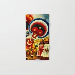 Oaxaca Mexico Vintage Travel Hand & Bath Towel