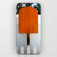 popsicle iPhone & iPod Skins featuring Popsicle  by Photaugraffiti