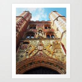 the Great Gate Art Print