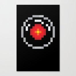 2001: A Pixel Odyssey Canvas Print