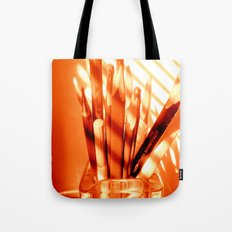 the sun is up Tote Bag