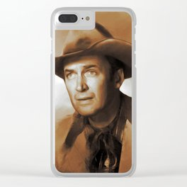 Hollywood Classics, James Stewart Clear iPhone Case