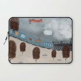 the travelling magic circus Laptop Sleeve