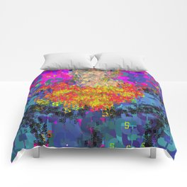 Superhero Type Art Comics SM Comforters
