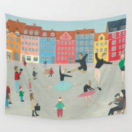 Dancing in the Street Wall Tapestry