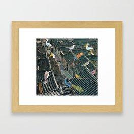 Bird Town Framed Art Print