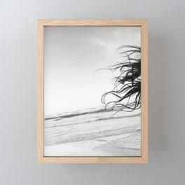 Tulum Hair Framed Mini Art Print