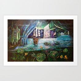 Lake Languish Art Print