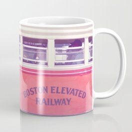 Orange Streetcar Coffee Mug