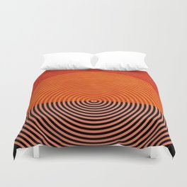 lines and shapes 1 abstract geometric Duvet Cover