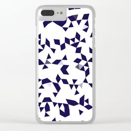 Astra Blue Clear iPhone Case