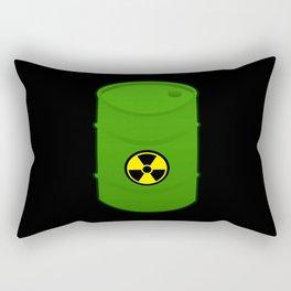 atomic waste barrel Rectangular Pillow