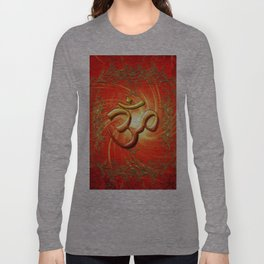 Om sign Long Sleeve T-shirt