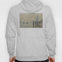 Claude Monet - The Thames Below Westminster Hoody