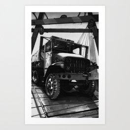 GMC Truck Part 1 Art Print
