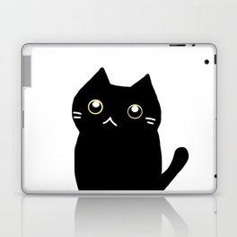 Black cat 589 Laptop & iPad Skin