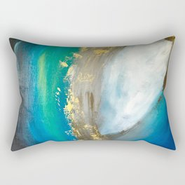 Indecision is a Bore Rectangular Pillow