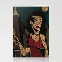 noir Stationery Cards featuring Noir by Matt Jeffs