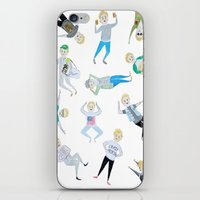 niall iPhone & iPod Skins featuring Niall Pattern by jerrh