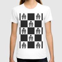 chess T-shirts featuring Panda Chess by Panda Cool