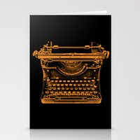 typewriter Stationery Cards featuring Typewriter by Jessica Slater Design & Illustration