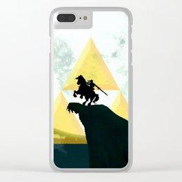 Zelda Horse Clear iPhone Case