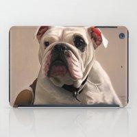 british iPad Cases featuring British Bulldog by Mel Hampson