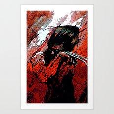 Berserker Wolvie - 2008 Art Print