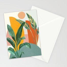 Leaf Design 03 Stationery Cards