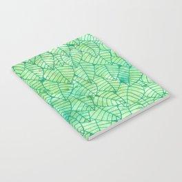 Green foliage Notebook