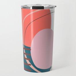 Coral based Travel Mug