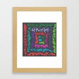 Instillation 6 Framed Art Print