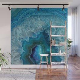 Agate Crystal Slice Wall Mural