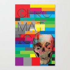 Chromatic Remix Canvas Print