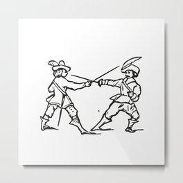 Musketeers Metal Print
