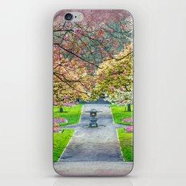GARDEN JOY iPhone Skin