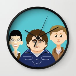 Superbad Wall Clock