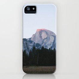 Half Dome at Dusk iPhone Case