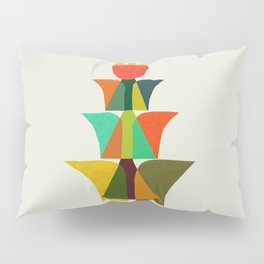 Whimsical bromeliad Pillow Sham