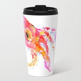 pink Octopus Travel Mug