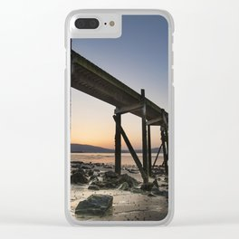 The old Peir at Holywood Clear iPhone Case