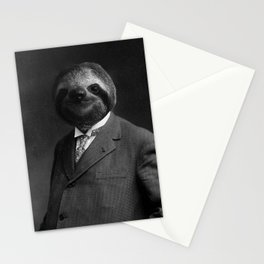Gentleman Sloth 8# Stationery Cards