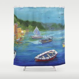 Portofino, Italy Shower Curtain