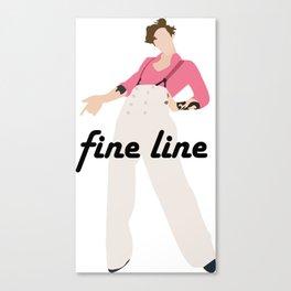harry styles - fine line Canvas Print