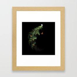 Woodland Butteflies Framed Art Print