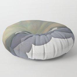 The Swimmer Floor Pillow