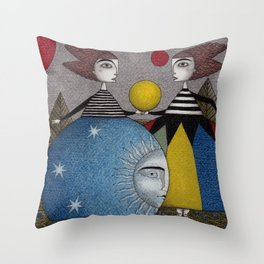Ball Game Throw Pillow