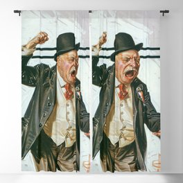 12,000pixel-500dpi - Joseph Christian Leyendecker - Statesman - Digital Remastered Edition Blackout Curtain