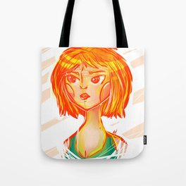 Lady of Orange Tote Bag