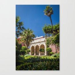 Sevilla - pilate's palace Canvas Print